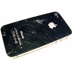iPhone 4 Baksida Byte (Svart)