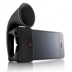 iPhone 4/4S Horn Högtalare (Svart)
