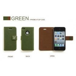 iPhone 4 Retro Plånbok R.Cheery (Grön)