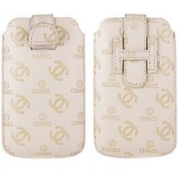 iPhone Chanel Fodral (Vit)