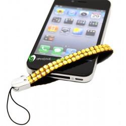 iPhone Strap Diamond (Guld)