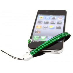 iPhone Strap Diamond (Grön)