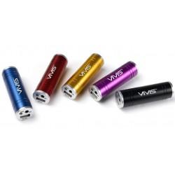 Vi-JET Backup Batteri 2200mAh (Röd)