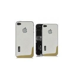 iPhone 4 Bakstycke Texture (Vit)