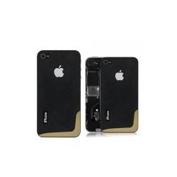 iPhone 4 Bakstycke Crossini (Svart)