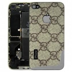 iPhone 4 Bakstycke Gucci (Guld)