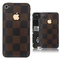 iPhone 4 Bakstycke LV (Brun)