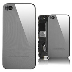 iPhone 4 Bakstycke Mirror (Striped)