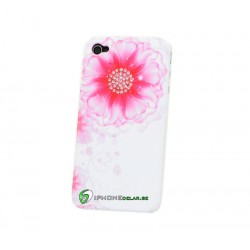 iPhone 4 Diamond Flower (Rosa)