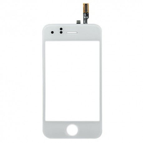 iPhone 3G Glasskärm Digitizer (Vit)