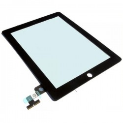 iPad 2 Skärmglas med Digitizer Touch Skärm (Svart)