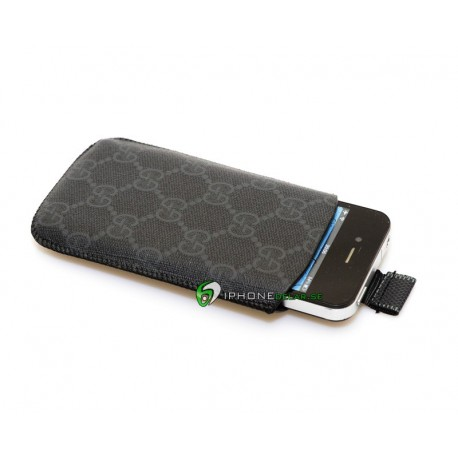 iPhone Gucci iPouch Fodral (Svart)