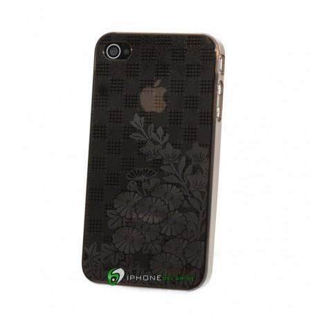 iPhone 4 Flower Mania (Svart)