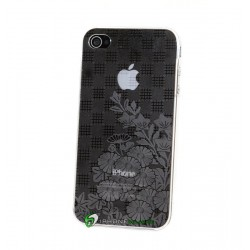 iPhone 4 Flower Mania (Vit)