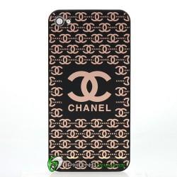 iPhone 4 Bakstycke Chanel (Svart)