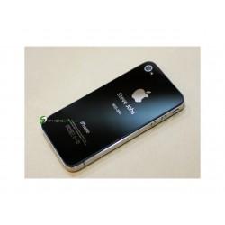 iPhone 4S Bakstycke Steve Jobs (Svart)