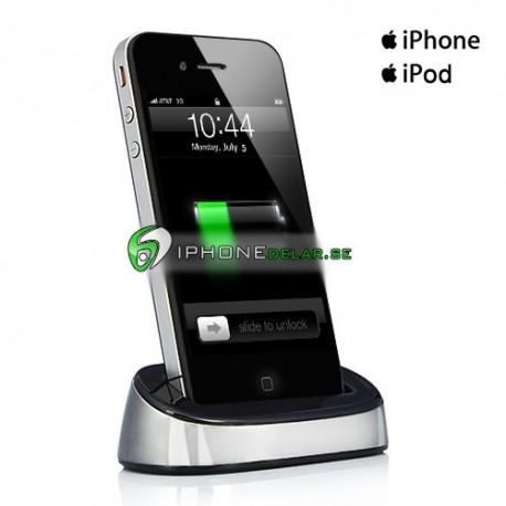 iPlex iPhone iPod Dock (Silver)