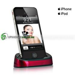 iPlex iPhone iPod Dock (Röd)