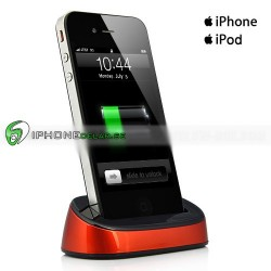 iPlex iPhone iPod Dock (Orange)