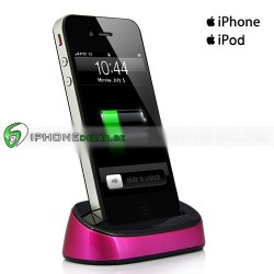 iPlex iPhone iPod Dock (Rosa)