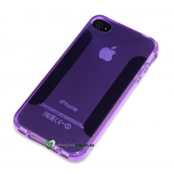 iPhone 4/4S Siliconia (Lila)