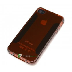 iPhone 4/4S Siliconia (Brun)