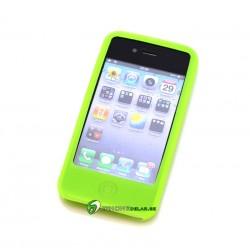 iPhone 4/4S Classic Silicon (Grön)