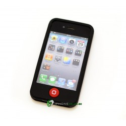 iPhone 4/4S Classic Silicon (Svart)