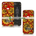 iPhone 4S Bakstycke Denis Simachev Design (Gul)