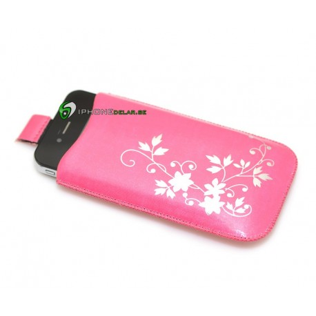 iPhone Fodral Flower (Rosa)