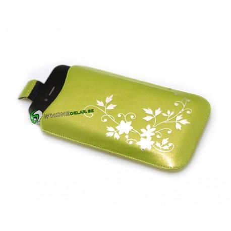 iPhone Fodral Flower (Grön)