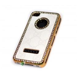 iPhone 4/4S serie Gucci (Vit)