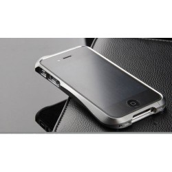 iPhone 4/4S Aluminium Bumper Cleave (Grå)