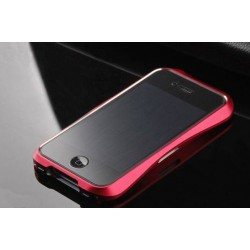 iPhone 4/4S Aluminium Bumper Cleave (Röd)
