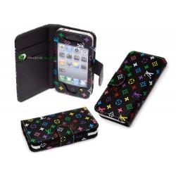 iPhone Plånbok LV (Svart)