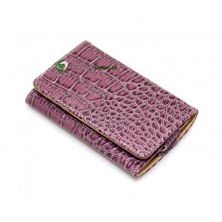 iPhone Plånbok Alligator (Lila)