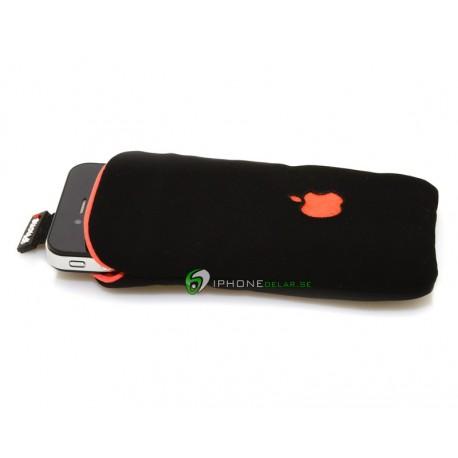 iPhone Fodral Soft Apple (Röd)