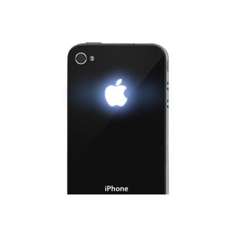 iPhone 4 Apple Led Logo (Svart)