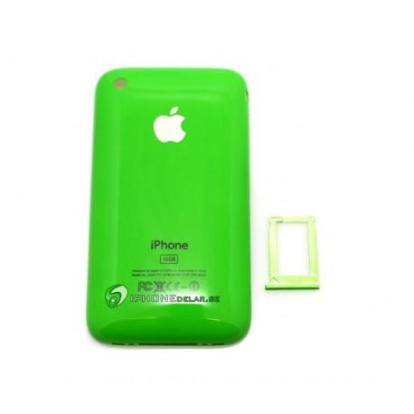 iPhone 3G/GS Bakstycke 16GB (Grön)