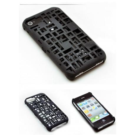 iPhone 4/4S Freshfiber (Svart)