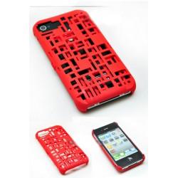 iPhone 4/4S Freshfiber Kreditkort (Röd)