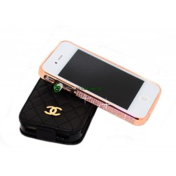 iPhone 4/4S Crystal Bumper (Rosa)