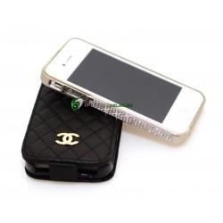 iPhone 4/4S Crystal Bumper (Grå)