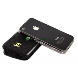 iPhone 4/4S Crystal Bumper (Svart)