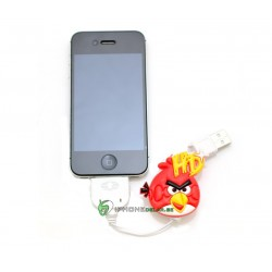 iPhone, iPod, iPad Synkkabel Angry Birds