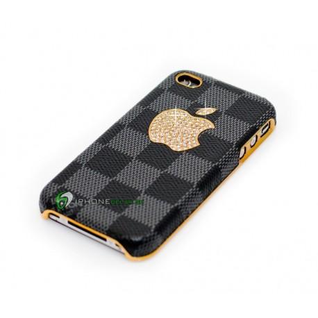 iPhone 4/4S Big Apple LV (Svart/Grå)