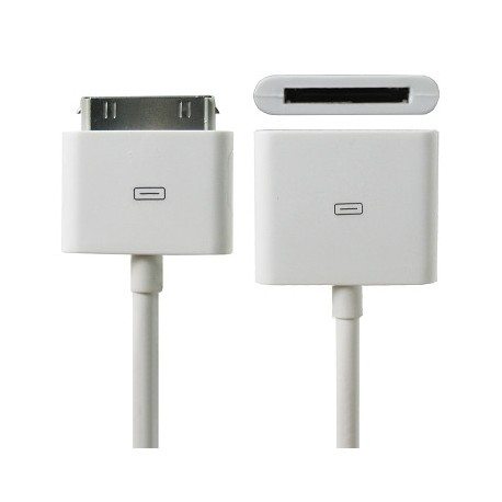 iPhone Förlängningskabel Hona/Hane 30pin