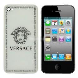 iPhone 4 Bakstycke Versace (Vit)