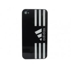 iPhone 4 Bakstycke Adidas (Svart)
