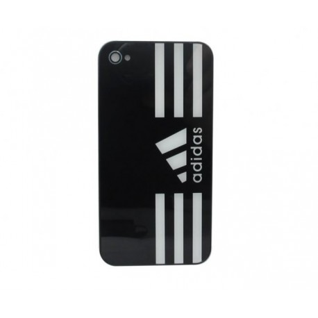 iPhone 4S Bakstycke Adidas (Svart)
